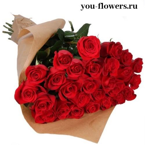 25 роз «Freedom»