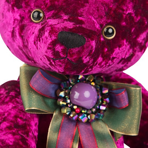 Медведь BernART пурпурный