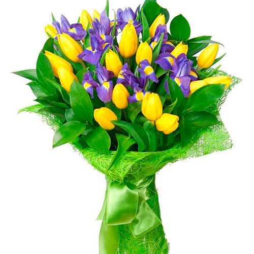 Букет из тюльпанов «Идиллия»