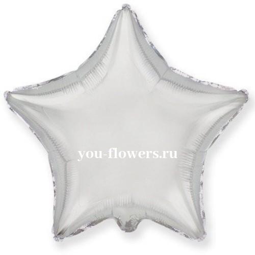 Звезда серебро
